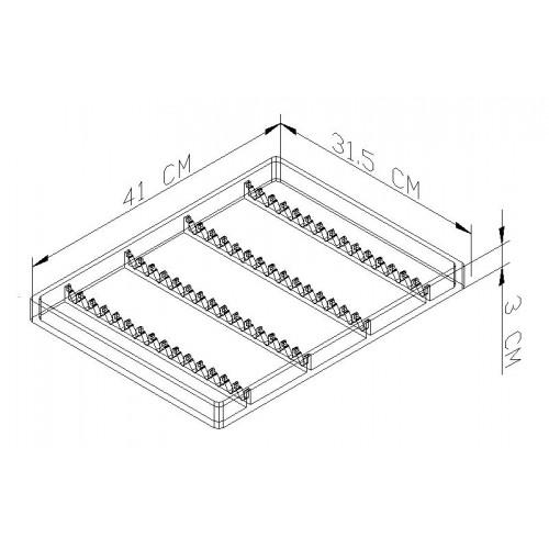 Compartiments de tiroir t t mobilier dentaire - Compartiment rangement tiroir ...
